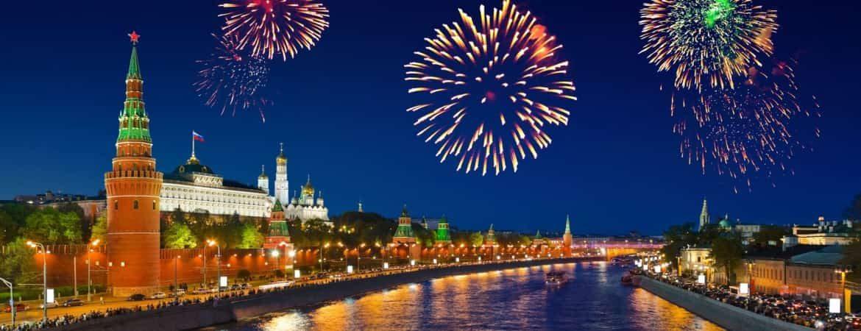 салюты Москва